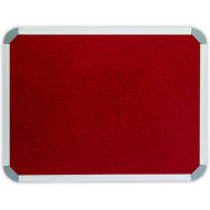Parrot Info Boards Felt 1200 X 900mm Burgundy