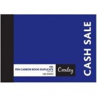 Croxley A6 Duplicate Cash Sales Book 100 Page