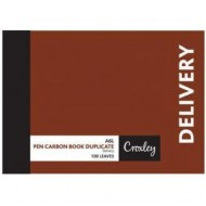 Croxley A6 Duplicate Delivery Book 100 Page