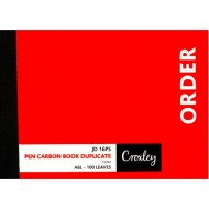 Croxley A6 Duplicate Order Book 100 Page