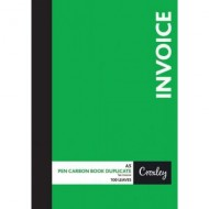 Croxley A5 Duplicate Invoice Book 100 Page