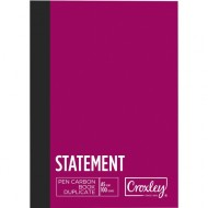 Croxley A5 Duplicate Statement Book 100 Page