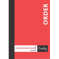 Croxley A5 Duplicate Order Book 100 Page