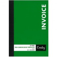 Croxley A5 Triplicate Invoice Book 100 Page