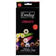 Croxley Create Colour Pencils 12's