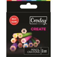 Croxley Create Colour Pencils 24's