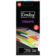 Croxley Create Triangular Colour Pencils 12's