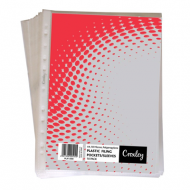Croxley A4 50 Micron Filing Pockets 10's