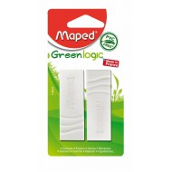 Maped Greenlogic Erasers PVC-Free x2