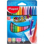 Maped Color'Peps Plastic Crayons