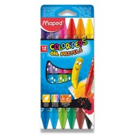 Maped Color'Peps Oil Pastels 12's