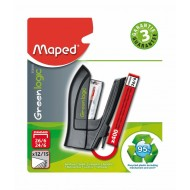Maped Greenlogic Mini Stapler + Staples