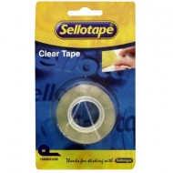 Sellotape Clear Tape 18mm x 33m