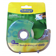 Sellotape Invisible Tape Dispenser 18mm x 15m