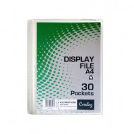 Croxley A4 Hard Cover 30 Pocket Display Folder