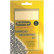 Sellotape Double Sided Tape Mounting Squares