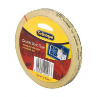 Sellotape Double Sided Tape 12mm x 33m