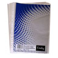 Croxley A4 50 Micron Filing Pockets 100's