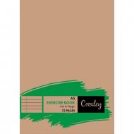 Croxley A4 72 Page Exercise Book Irish Line & Margin