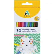 Adel Watercolour Pencils 12's