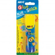 Amos Blue Disapearing Glue Stick 35g