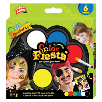Amos Face Paint Carnival Kit