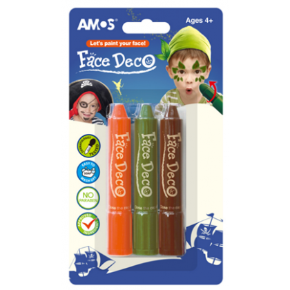 Amos Face Paint For Boys