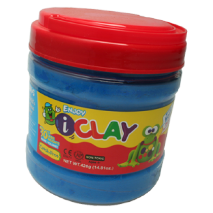 Amos iClay 400g Bucket Blue