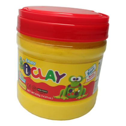 Amos iClay 400g Bucket Yellow
