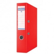 Donau A4 75mm PP Lever Arch File Red