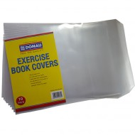 Donau A4 Pre-Cut Book Covers 120mic 10's