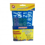 Penflex Stencil Set of 4