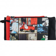 4 Kids 3 In 1 Pencil Bag Red