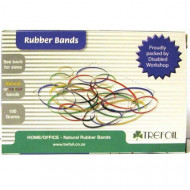 4 Office Rubber Bands 100g Size 32 Green