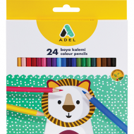 Adel Colour Pencils 24's