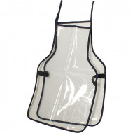 School Double Sided Apron Clear