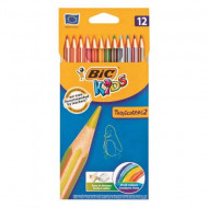 Bic Kids Tropicolor Colour Pencils 12's