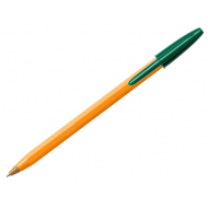 Bic Orange Ballpoint Pen Green